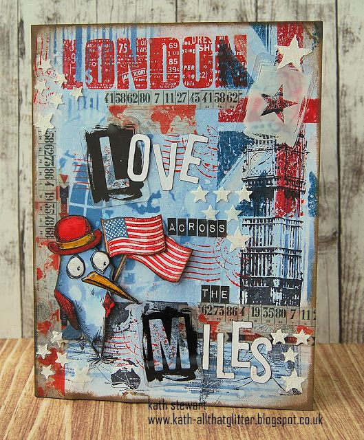 Kath's Blog......diary of the everyday life of a crafter: Simon Says...Red/White and/or Blue...