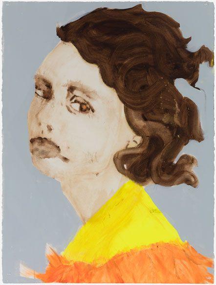 Rauha Mäkilä Lykke, 2015, Acrylic on paper, 76 x 57 cm