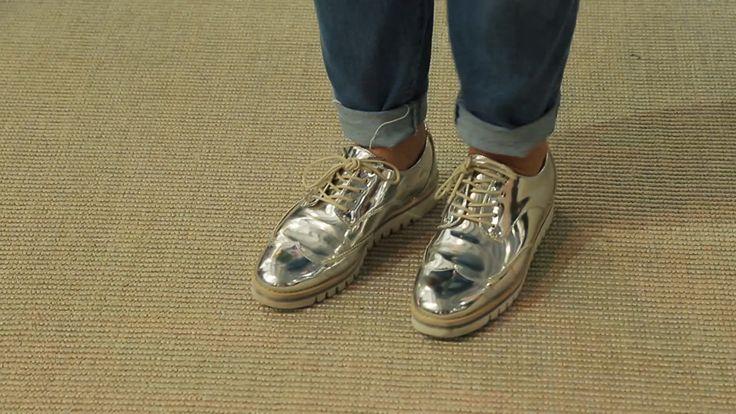 Sapatos e roupas com brilho se destacam no evento Veste Rio