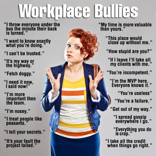 Workplace Bullies « myinnerbitchblog