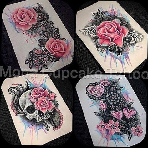de 25 bedste id er inden for arm tattoos girls p pinterest rosetatoveringer bl k og. Black Bedroom Furniture Sets. Home Design Ideas