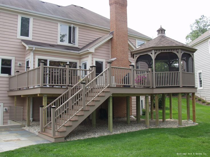 Like what you see? The cost to build a deck varies by size, location and whether or not you hire a decking pro. See all the costs of building a deck and determine if a new outdoor deck is right for you.
