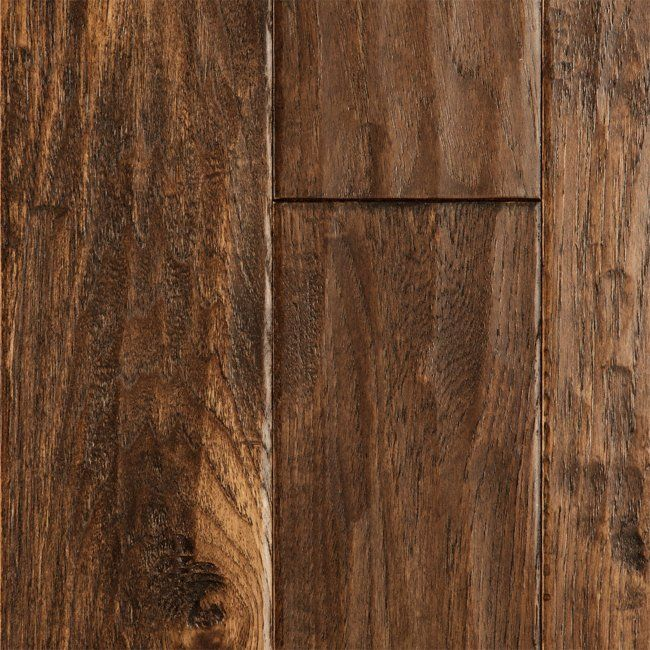 Harvest Hickory Handscraped hardwood floors