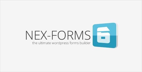 [GET] NEX-Forms v6.0.6 - The Ultimate WordPress Form Builder