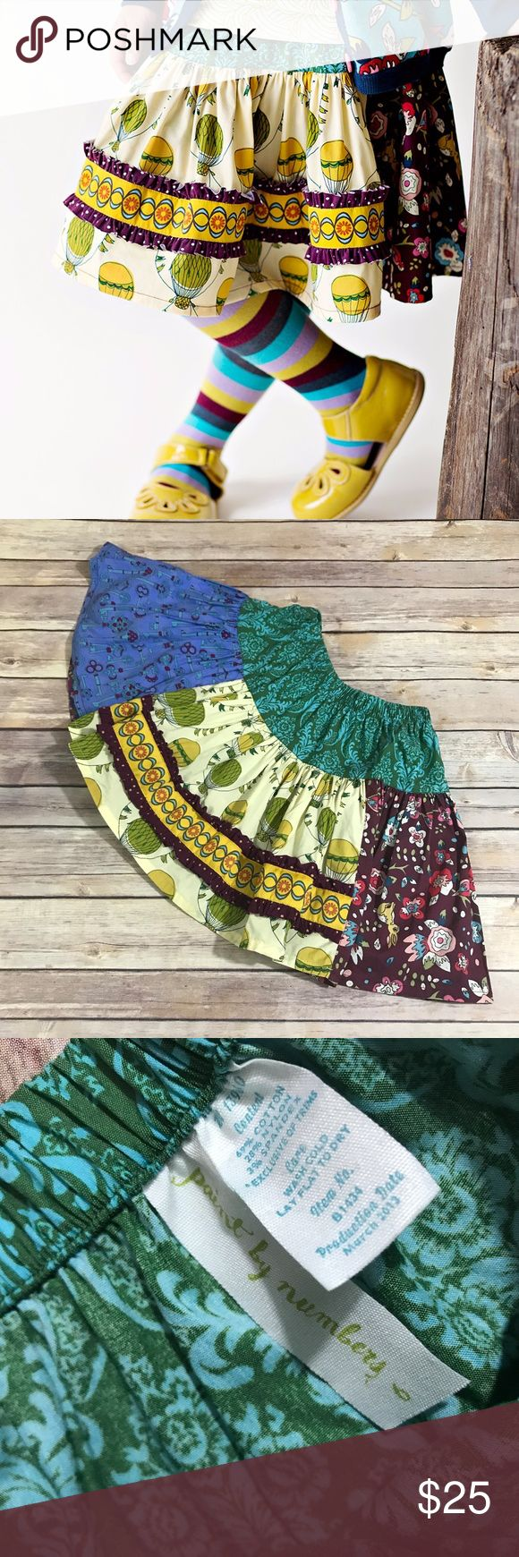 Matilda Jane Paint by Numbers Blarney Molly 6 Matilda Jane Paint by Numbers Blarney Stone Molly Skirt 6   Super cute, excellent condition.  #mjaddicts #mjmolly #mjpaintbynumbers #paintbynumbers #molly #blarneystone #hotairballoons #hotairballoon #rabbit #bunnies #skirt #itsaskirt Matilda Jane Bottoms Skirts