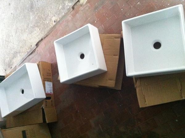 Scarabeo Teorema Bathroom Sinks