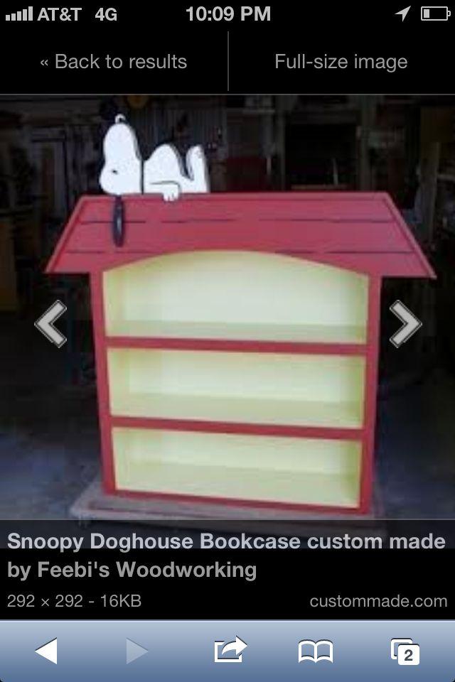 Snoopy Bookshelf