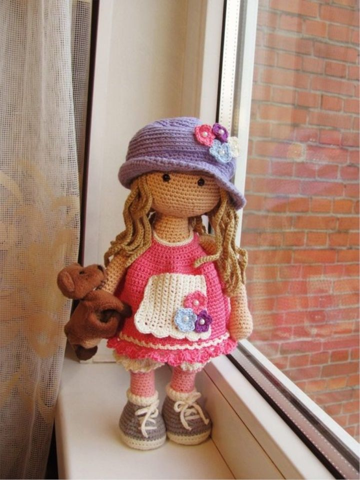 Preview My Crochet Doll Book: With 50 Cute Crochet Doll Clothes ... | 960x720