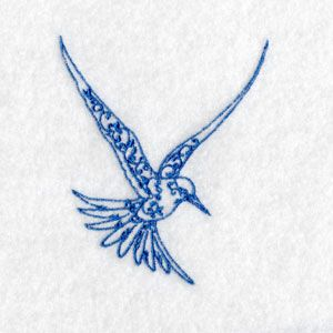 Free Embroidery Design: Bird
