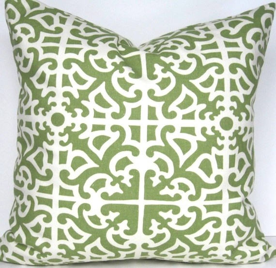 On the hunt for new throw pillows for our khaki couches that sit near some antique wood pieces...