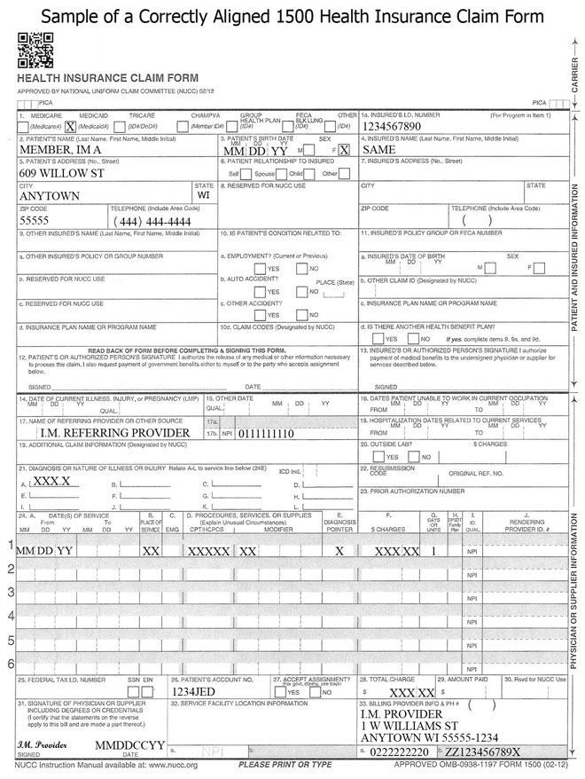 New Totally Free Health Insurance Claim Form Example Ten Reliable