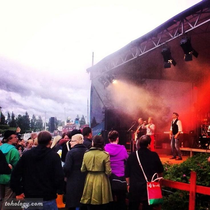 Music Festival in Mikkeli, June 14, 2013.