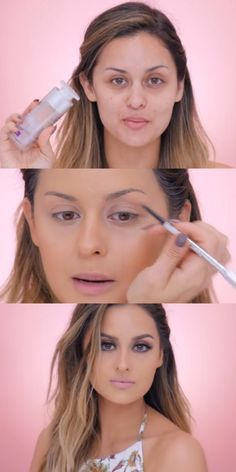 Awesome Makeup Tutorials for Summer - Sweatproof Summer Makeup Tutorial- Simple and Easy Step By Step Tutorials for Light and Natural Makeup Looks - Youtube Videos with DIY Guides for Eyeshadow, Beach Waves, Foundation, Highlights, Eyebrows and All Sorts of Different Hair Styles - Check Out These Fun Make Up Tips Now! - thegoddess.com/makeup-tutorials-summer