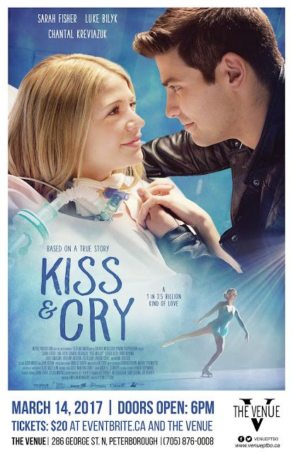 Kiss and Cry es un drama romántico basado en la verdadera historia de Carley Allison, una jovencita de 18 años con una prometedora carrera como patinadora artística y cantante a quien le diagnosticaron un tipo raro de sarcoma.