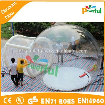 geodesic dome tent,inflatable clear dome tent new bubble tent