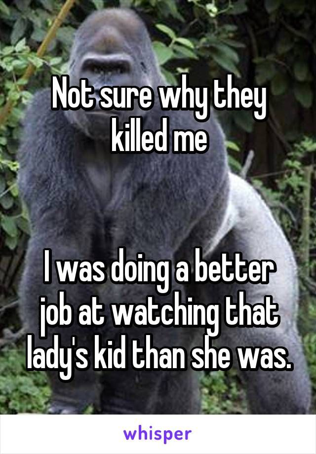 Yep, and they won't even pay to get a replacement gorilla. I hate humanity. REPOST IF YOU THINK JUSTICE HAS NOT YET BEEN DONE.
