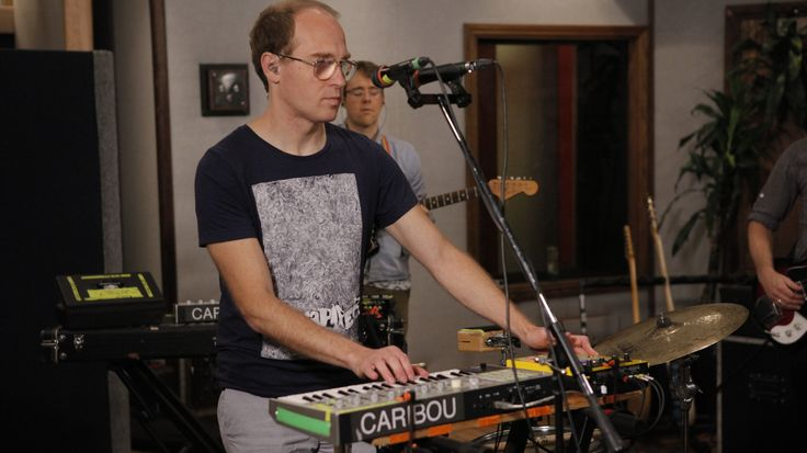 Watch a rare studio performance from one of indie rock's most beloved electronic musicians: Dan Snaith, or as you probably know him, Caribou.
