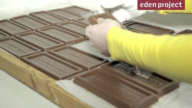 Want to see how the Eden Project chocolate bar is made? Watch this short video.