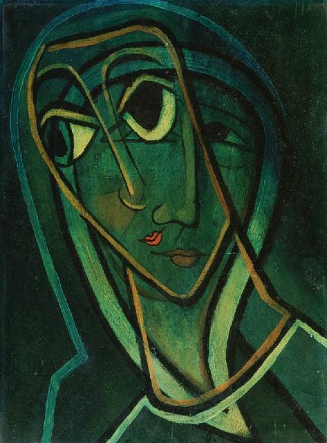 francis picabia - surimpression madonne, 1930