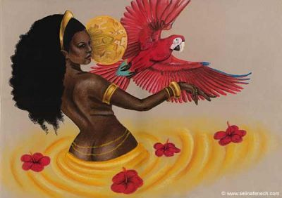 African Goddess of Love | oshun the yoruban goddess of love delights in the creation of beauty ...