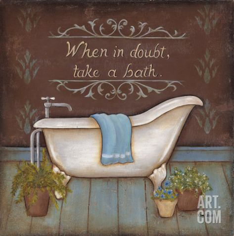 When In Doubt Print by Kim Lewis at eu.art.com