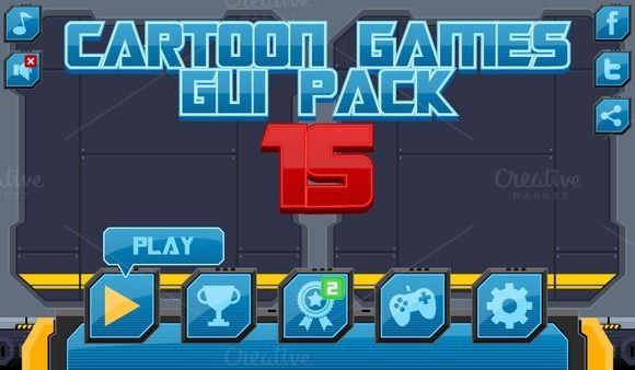 Tech Theme GUI (£9)