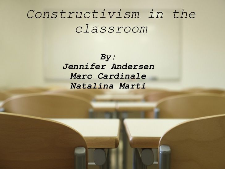 Here is a very informative ppt on Constructivism in the classroom. Here is a website http://www.ucdoer.ie/index.php/Education_Theory/Constructivism_and_Social_Constructivism_in_the_Classroom that also has great information on social constructivism. This website includes great info like the role of teacher and students in the classroom