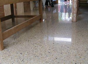 Polished Concrete at Yack Station