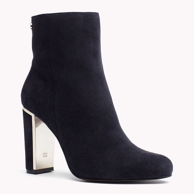Tommy Hilfiger High Heeled Suede Boot - midnight - Tommy Hilfiger High Heel - main image