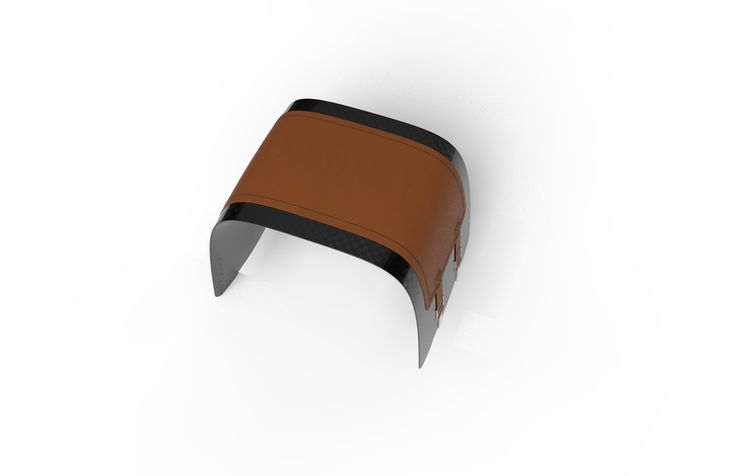 Small Carbon Aero Bench 600 with Leather Pad | Smallest of the Aero Bench range is the Aero 600; a versatile and stylish carbon fibre, super lightweight stool which shows off the advanced struct... view details on www.treniq.com