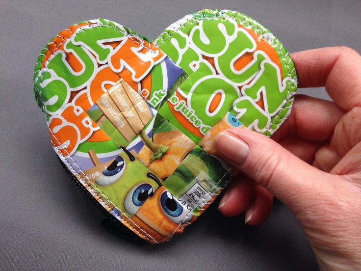 juice pouch coin purse