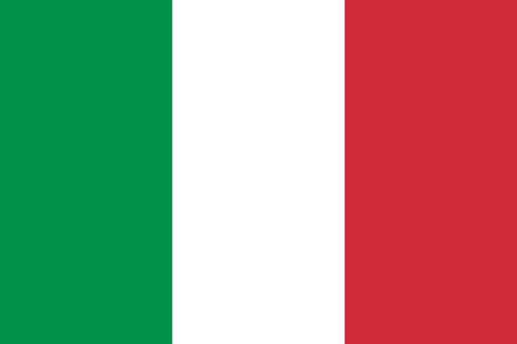 IT: Italian flag - Green represents the country's plains and the hills; white, the snow-capped Alps; and red, blood spilt in the Wars of Italian Independence.