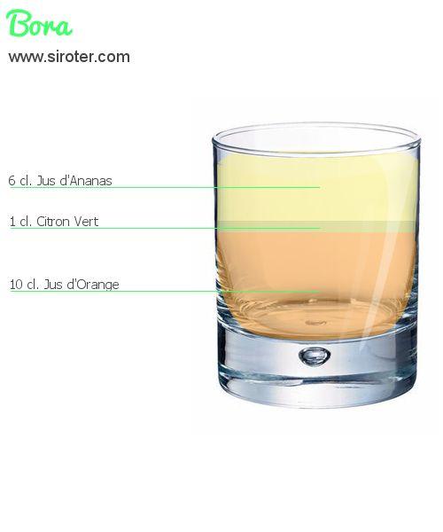 Cocktail Bora (sans alcool)