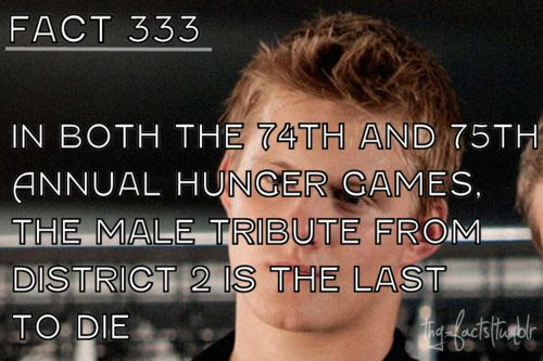 The Hunger Games facts 321-340 - the-hunger-games Fan Art