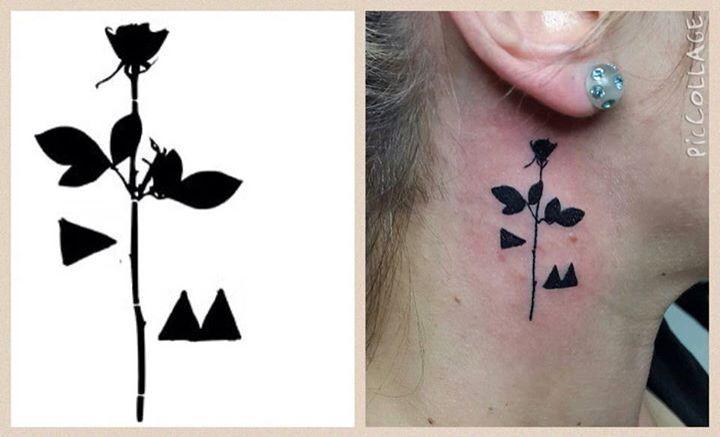 depeche mode violator tattoo - photo #6
