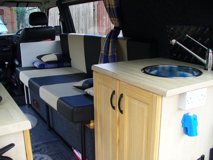 168 best images about van interiors on pinterest van for Vw t4 interior designs