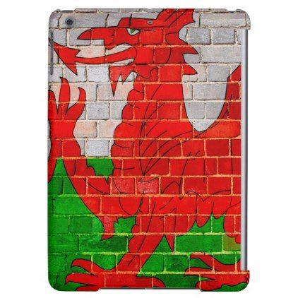Welsh dragon on a brick wall iPad air covers  $55.80  by sakiphotos  - custom gift idea