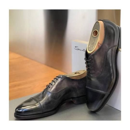 Santoni leather lace ups shoes.    Available at: incrocio.gr/en/oxford-shoes/santoni-lace-up-shoes-6.html
