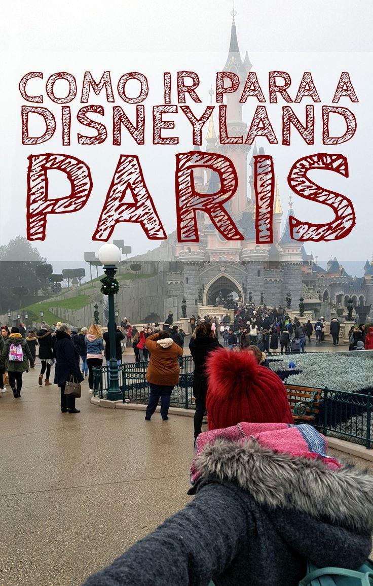 Detalhamos como ir para a #DisneylandParis a partir do centro de #Paris, do Aeroporto ou mesmo a partir da Alemanha.