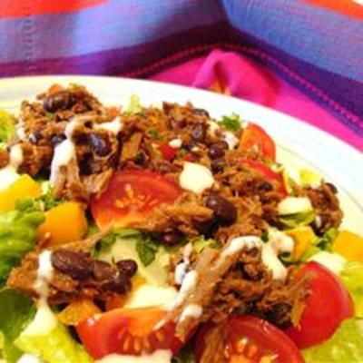 Amy's Barbecue Chicken Salad: Creamy Barbeque, Southwest Styl Ingredients, Bbq Sauces, Barbecues Chicken, Barbeque Sauces, Sauces Dresses, Grilled Chicken, Chicken Salad Recipe, Favorite Recipe