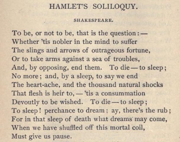 Hamlet essay papers