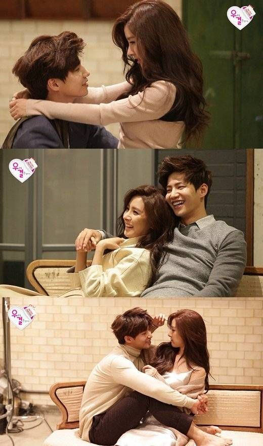 Song Jae Rim and Kim So Eun take on a couple photoshoot in preview cuts for 'We Got Married' | allkpop