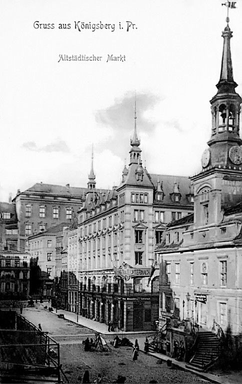 Königsberg Pr. Altstädtischer Markt