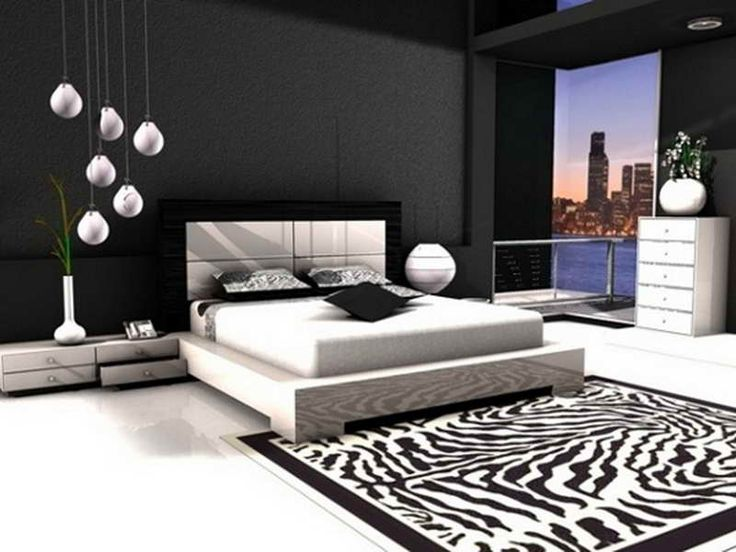Decoration:Chic Black And White Decorating Ideas For Bedroom Black And White  Decorating Ideas For
