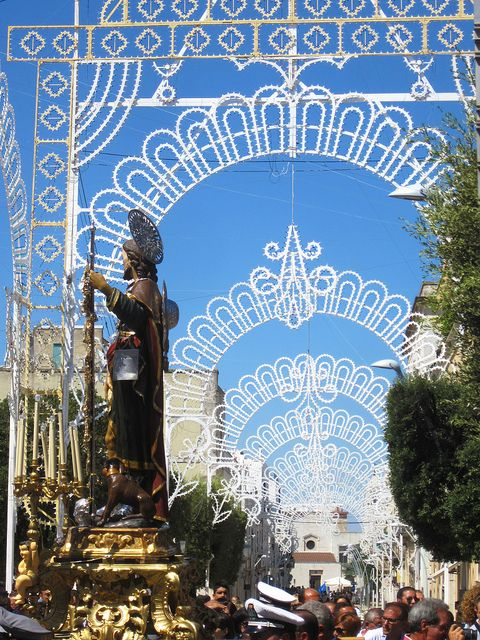 The San Rocco walk in Noci, Puglia (Italy) -- 'Walking The Streets With An Italian Brass Band'