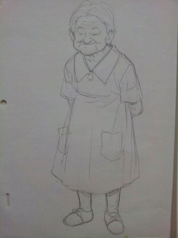 할머니_낙서