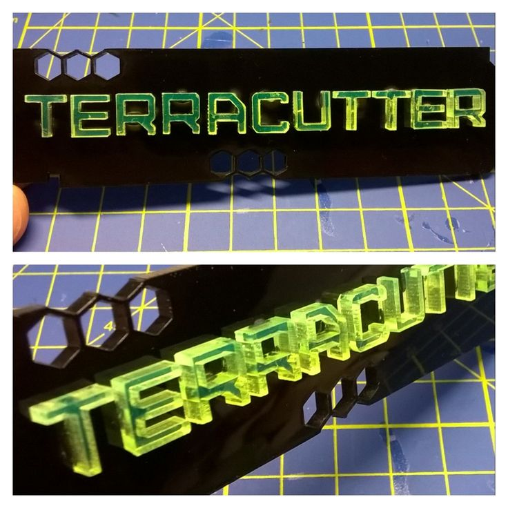#lasercut #terracutter