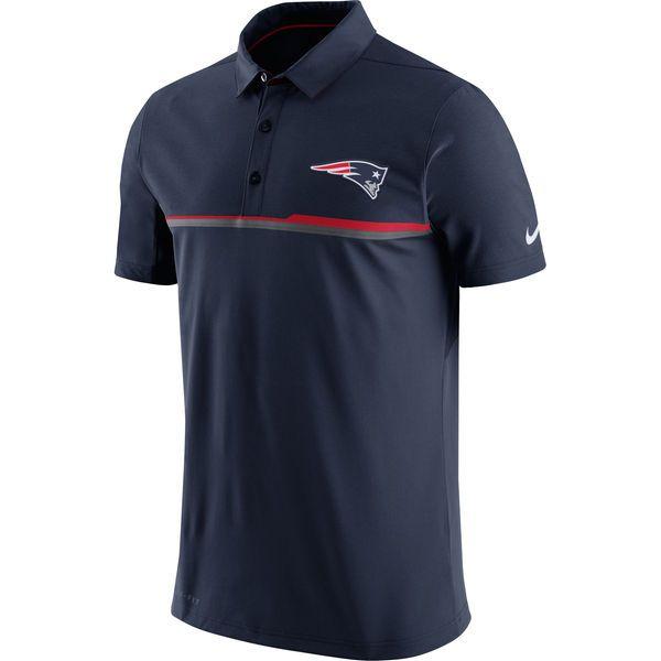 New England Patriots Nike Elite Coaches Performance Polo - Navy
