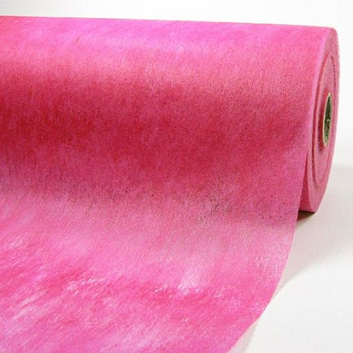 Fleece-Dekovlies: 250mm breit / 50m-Rolle, pink