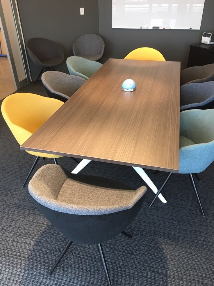 Nice use of the @Elsafe Pluto by Fuze Interiors on a board room / meeting table. #cablemanagement